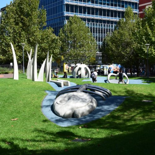 Hindmarsh Square Skulpturen Park