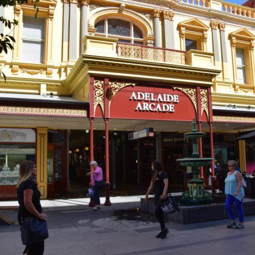 Adelaide Arcade Außen