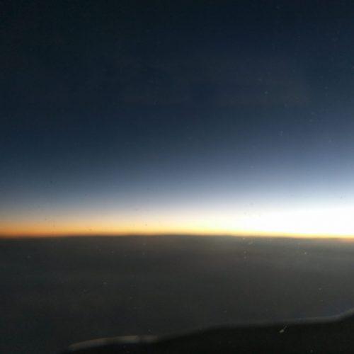 Sonnenuntergang persischer Golf